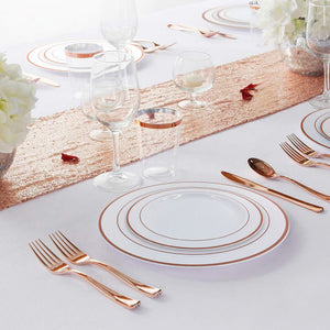 Disposable Clear Dinnerware Set  | Nicro Party