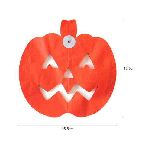 Image of Halloween Pumpkin  Paper Garland