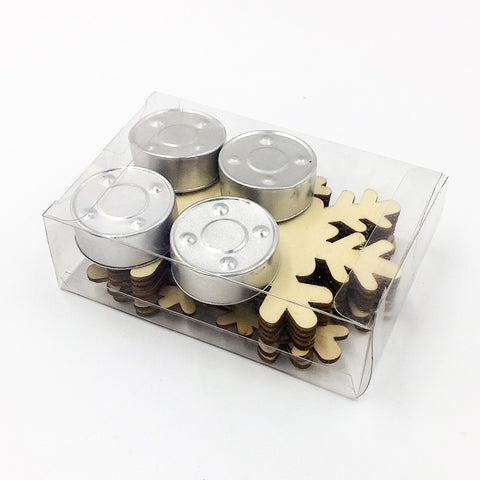 Image of Snowflake Tea Light Candle Holder | Nicro Party