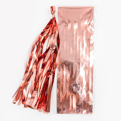 Image of Neon Film PET Paper Tissue Tassel | Nicro Party