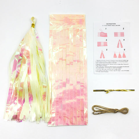 Neon Film PET Paper Tissue Tassel | Nicro Party