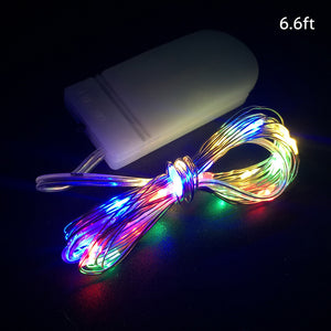 1/2/3M 10/20/30 Leds Christmas Lights String LED for Festival Wedding Birthday | Nicro Party