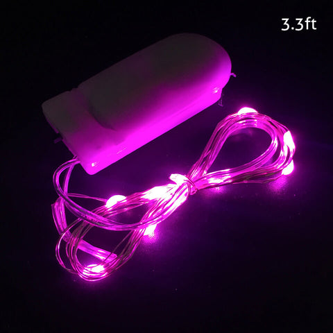 Image of 1/2/3M 10/20/30 Leds Christmas Lights String LED for Festival Wedding Birthday | Nicro Party