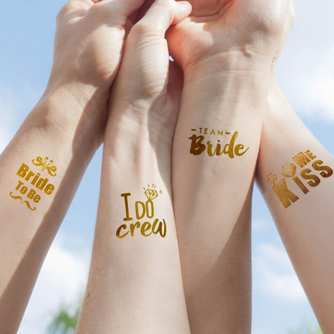Image of Team Bride Tattoo Sticker | Nicro Party