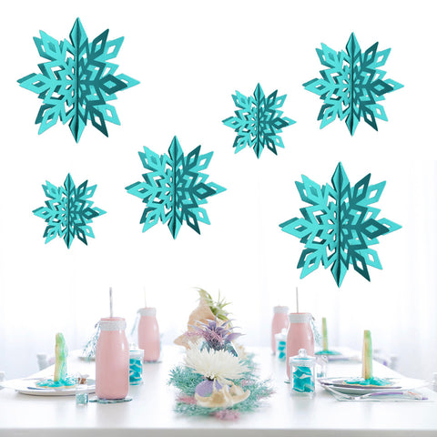 Three-dimensional Snowflake | Nicro Party