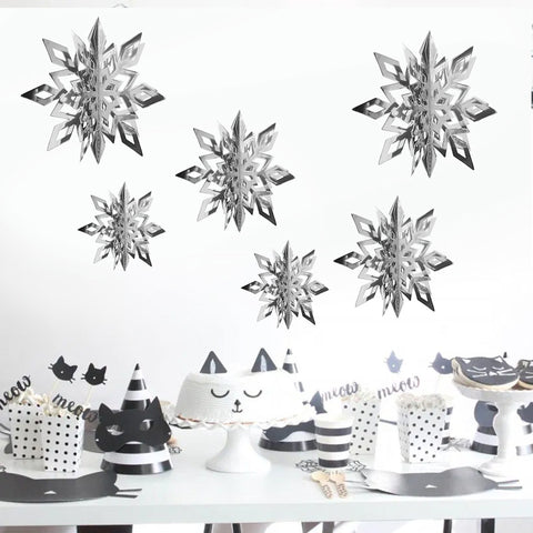 Image of Three-dimensional Snowflake | Nicro Party