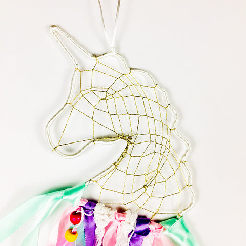 Image of Unicorn Dream Catcher