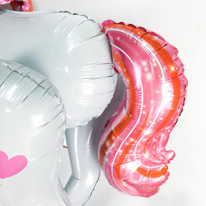 46 inch Large Size 3D Unicorn Balloons | Nicro Party