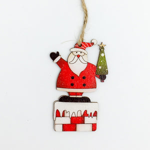 Wooden Christmas Tree Pendant | Nicro Party