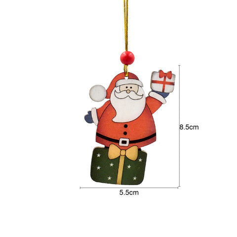 Image of Wooden Christmas Tree Pendant | Nicro Party