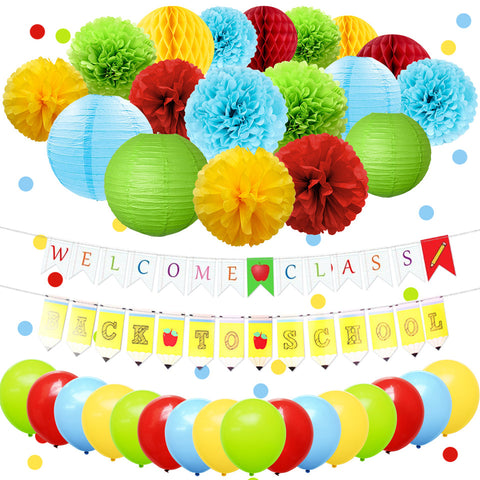 Image of Back to School Party Decor Kit