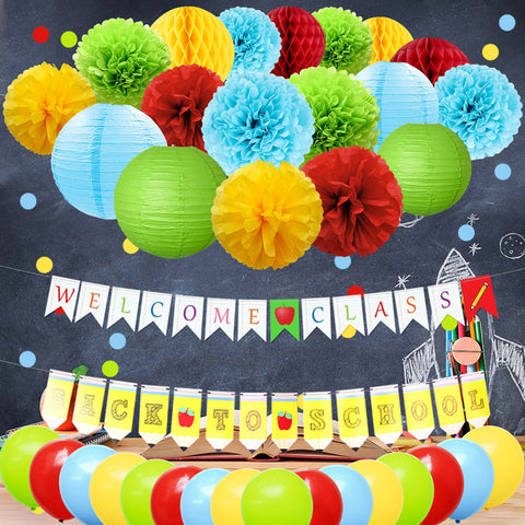 Back to School Party Decor Kit