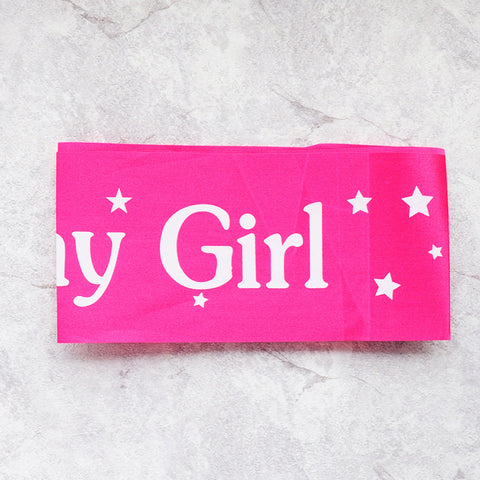 Birthday Girl Sash Party Decoration