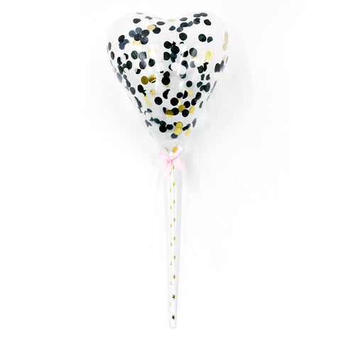 5 inch Confetti Balloons Cupcake Topper | Nicro Party
