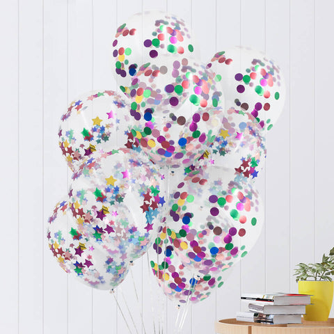 10 pcs/set Confetti Balloons Set | Nicro Party