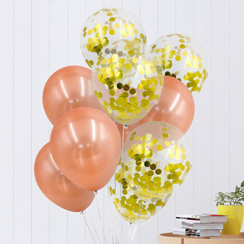 Image of 10 pcs/set Confetti Balloons Set | Nicro Party