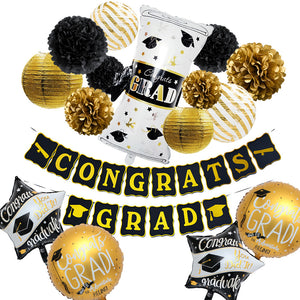 Congrats Grad Graduation Party Decor Kit