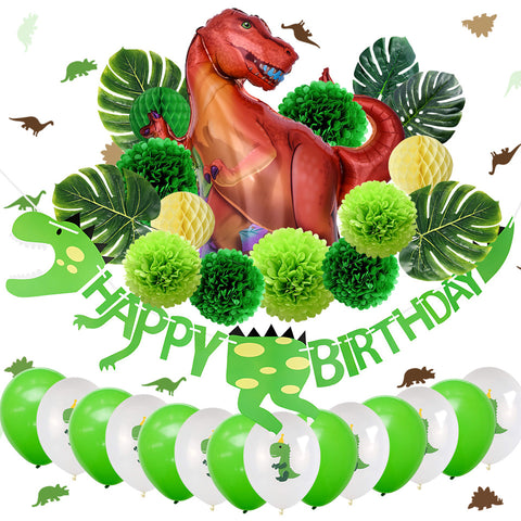 Dinosaur Birthday Party Decoration Kit