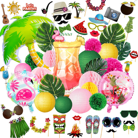 Image of Flamingo Beach Party Decoration