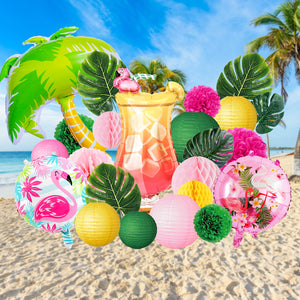Flamingo Beach Party Decoration