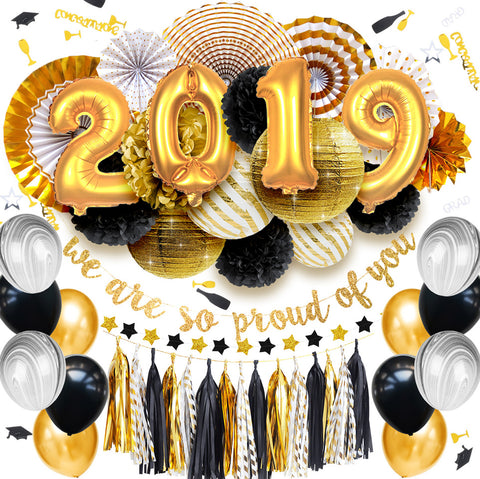 Image of Graduation 2019 Party Decoration Kit