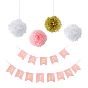 Happy Birthday Party Decoration Kit