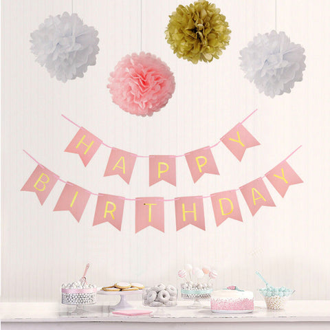 Image of Happy Birthday Party Decoration Kit