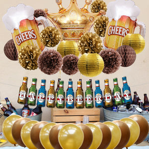 National Beer Day Decoration Kit