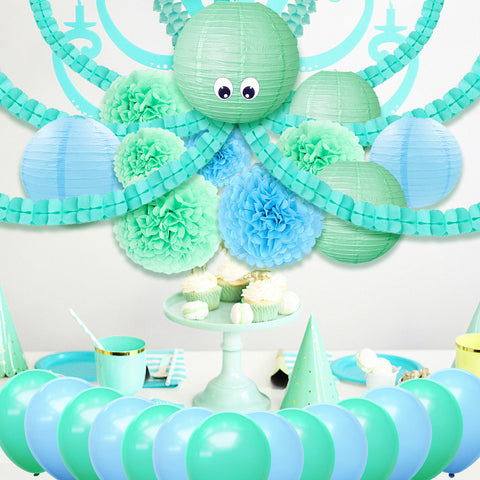 Octopus Party Decoration Kit