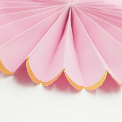 Image of 3pcs/set  Paper Fans for Party Decoration