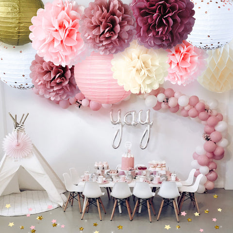 Image of Pink Party Decoration kit