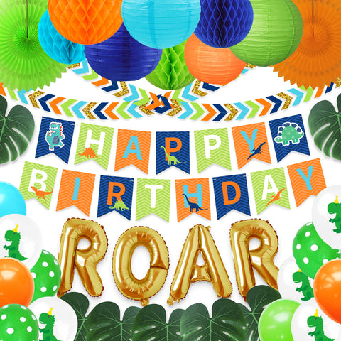 Image of ROAR Birthday Decoration