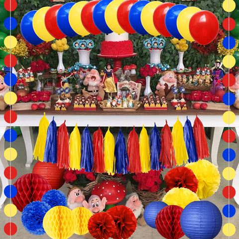 Image of Snow White Theme Party Decoration Kit