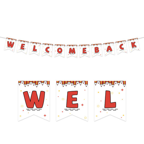 Image of Welcome Back Banner