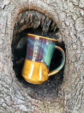 Load image into Gallery viewer, Plague Doctor Mug Honey Brown & Green #2 Free shipping