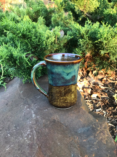 Brown & Green Mug 1