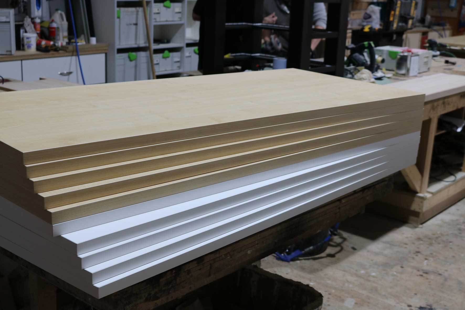 Client needed bespoke desk-tops