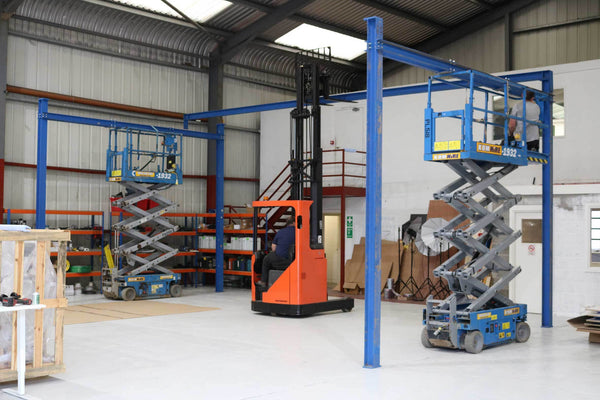 Installation of new manufacturing equipment