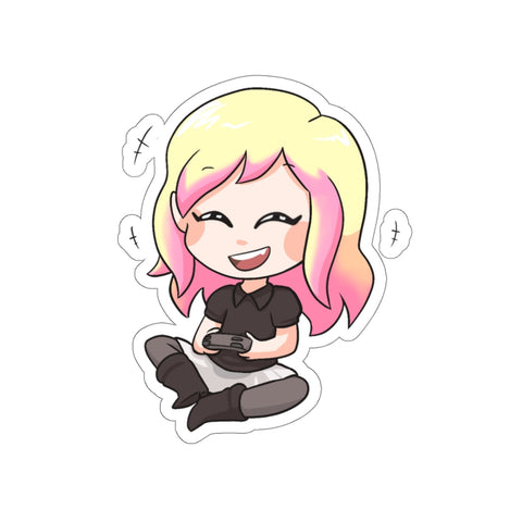 Chibi Mizorey Laughing Sticker