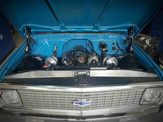 Twin Turbo Chevy C10