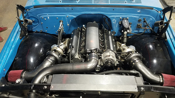 LS 67-72 C10 Twin Turbo Kit
