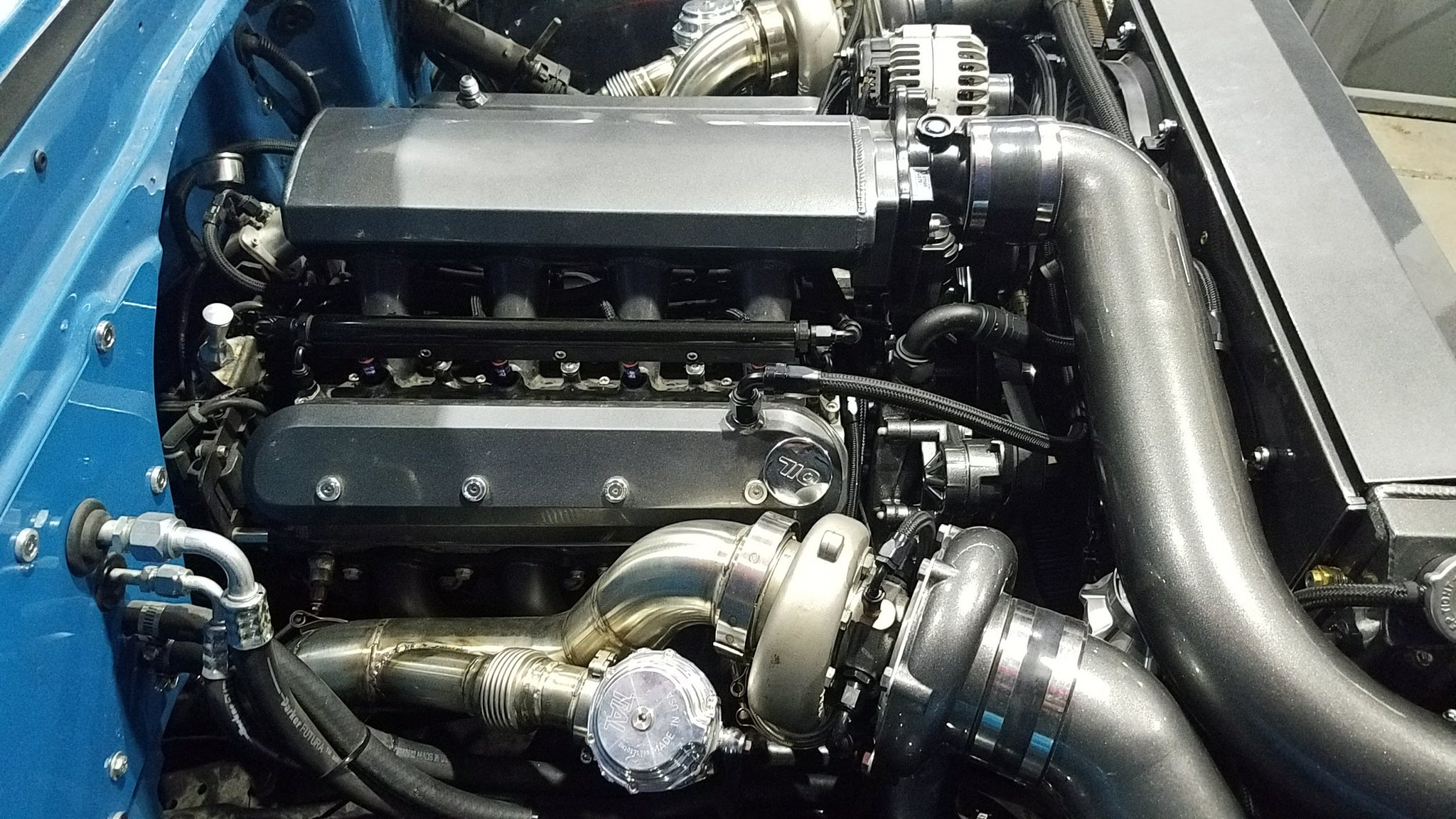 LS 67-72 C10 Twin Turbo Kit – Performance Supercar