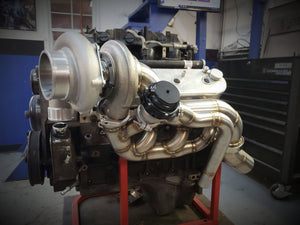 LSX Topmount Twin Turbo Manifolds