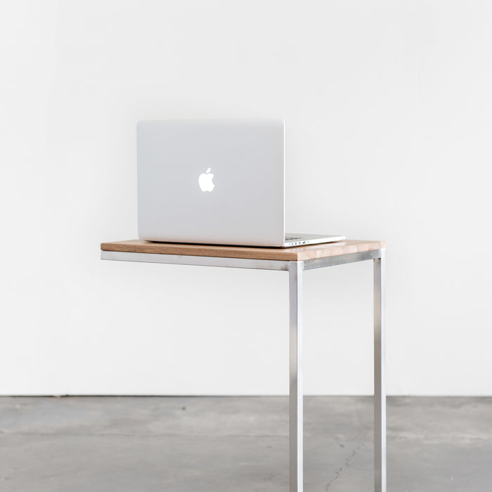 Classic Walnut Soho Laptop Stand – Ideal for Workaholics
