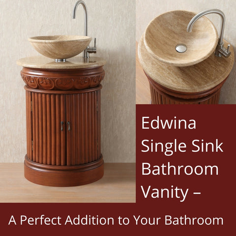 Edwina Single Sink Bathroom Vanity