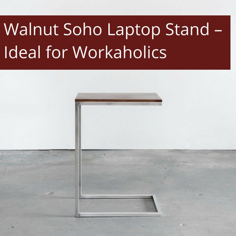 Walnut Soho Laptop Stand