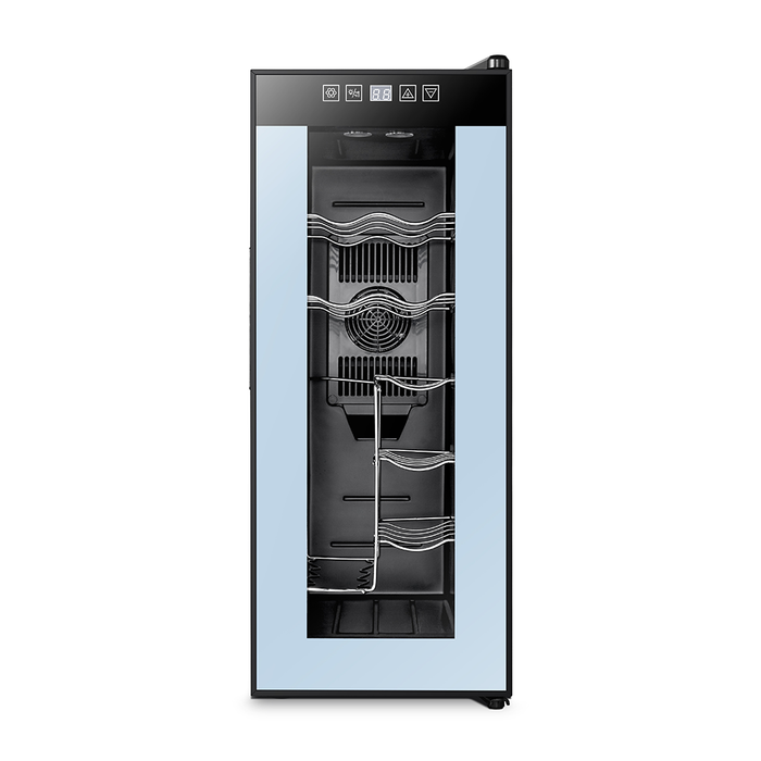Powell 12 Bottle Single Zone Freestanding Wine Cooler