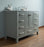 48 inch Malibu Grey Single Sink Bathroom Vanity myhomeandbath