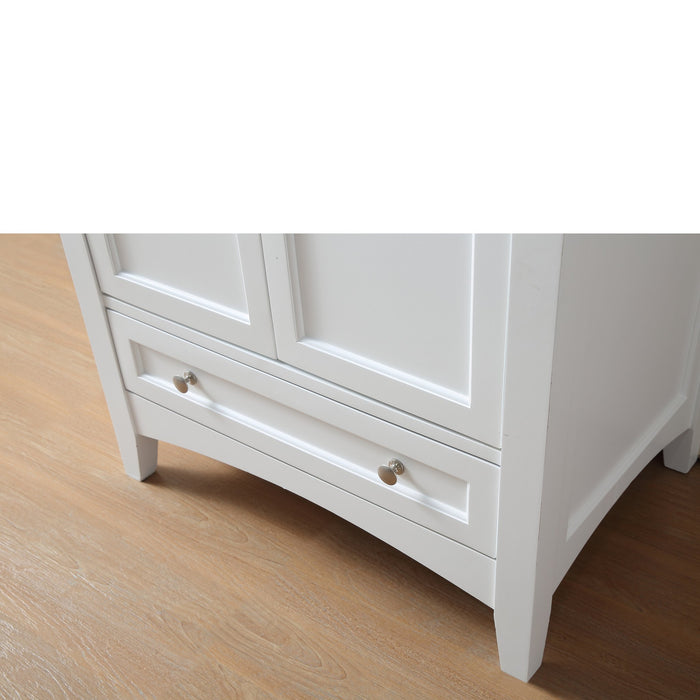 30 inch White Laundry Utility Sink