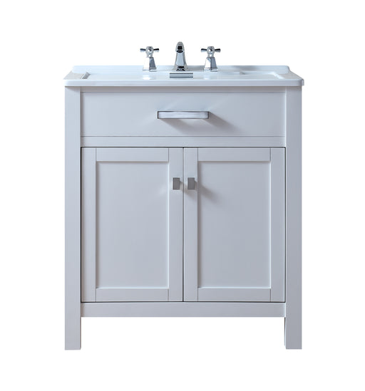 Radiant 30 Inch Laundry Sink Cabinet